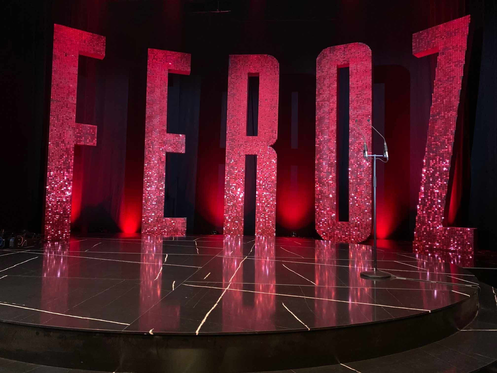 Image of Escenario Premiso Feroz 2020 Silestone escenario 2 baja 1 in Silestone® set to dazzle at the 2020 Feroz Awards - Cosentino