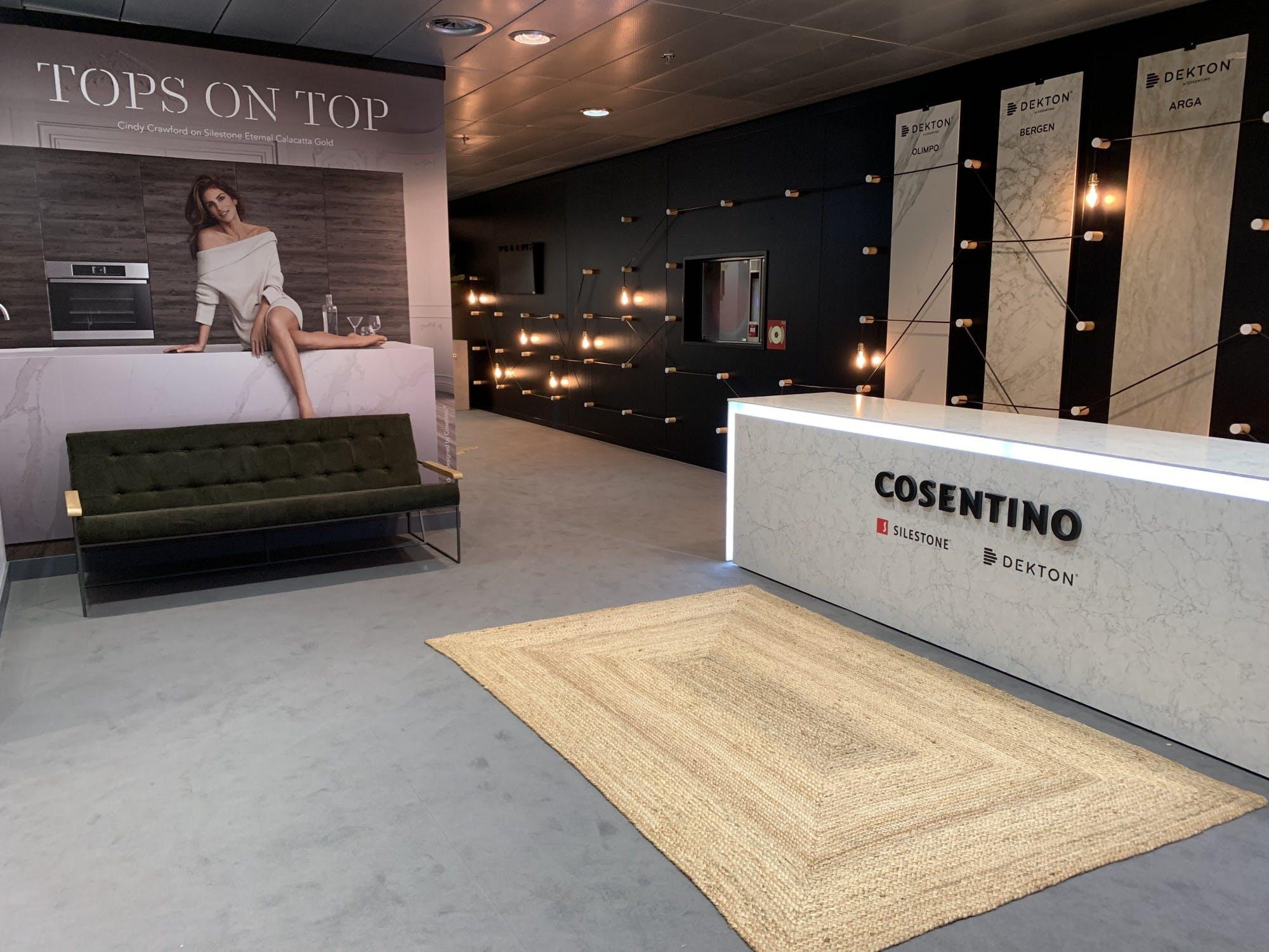Image of Espacio Cosentino MMO 2019 4 1 in Dekton® stars at the Mutua Madrid Open - Cosentino
