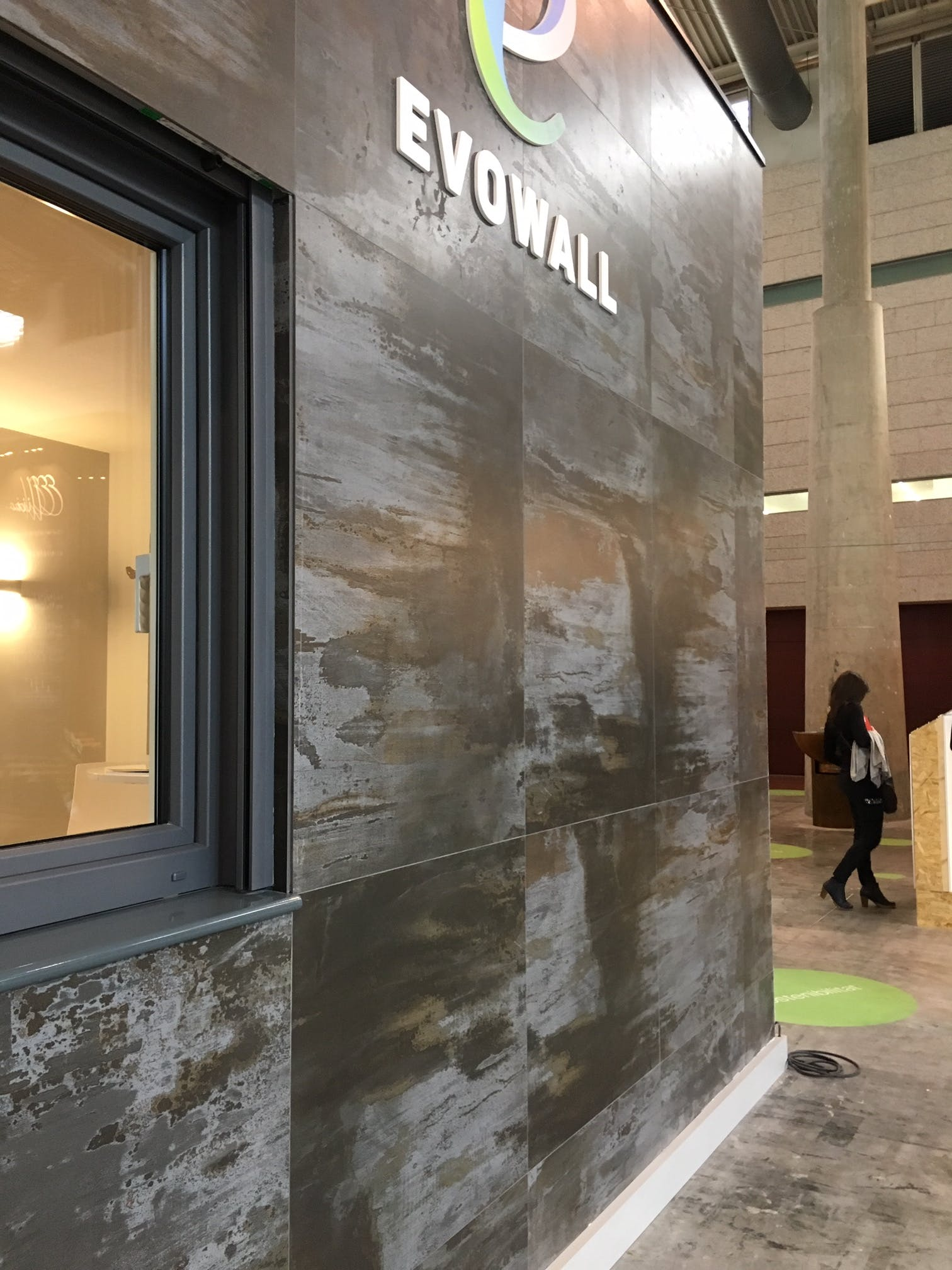 Image of Evowall en BBC 2019 Dekton by Cosentino 2 Trilium 1 in Dekton at Barcelona Building Construmat 2019 - Cosentino