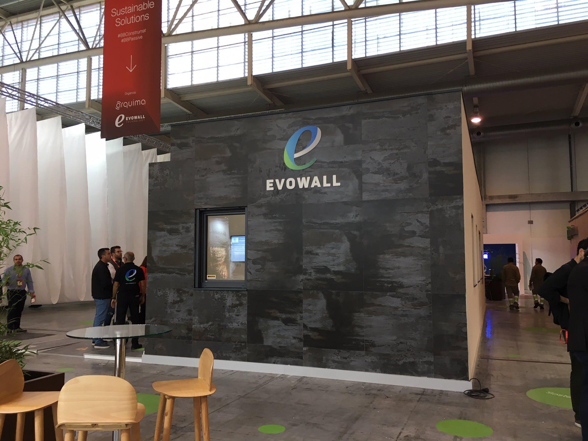 Image of Evowall en BBC 2019 Dekton by Cosentino Trilium 1 in Dekton at Barcelona Building Construmat 2019 - Cosentino