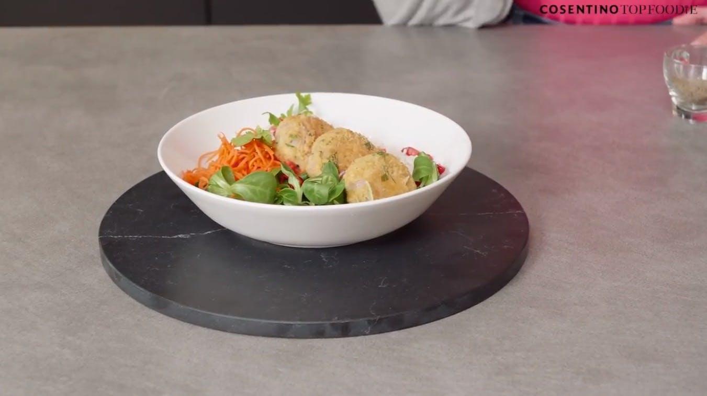 Image of Falafel 6 4 in Falafel and Hummus Buddha Bowl Recipe - Cosentino