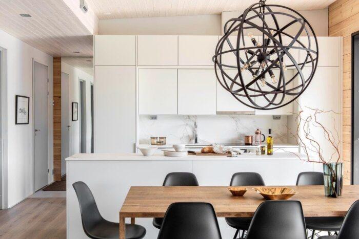 Image of Finnish wooden house Cosentino 3 2 in Finnish Wood House with Silestone® Bathroom and Dekton® Kitchen - Cosentino