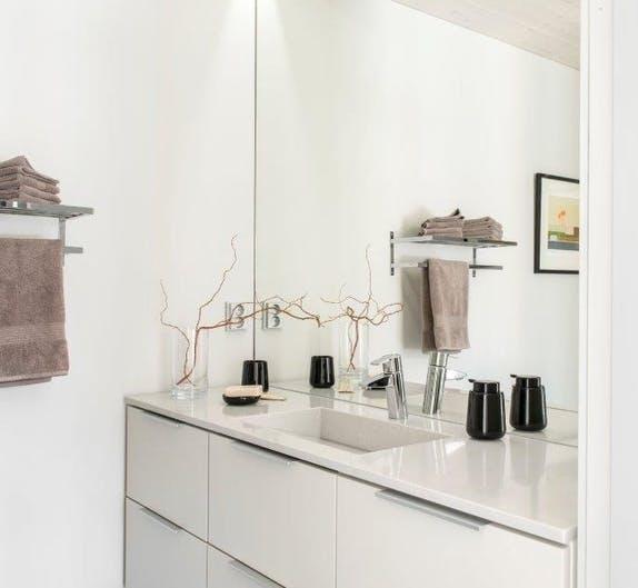 Image of Finnish wooden house Cosentino 6 1 in Finnish Wood House with Silestone® Bathroom and Dekton® Kitchen - Cosentino