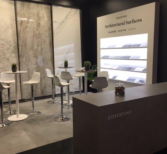 Image of IMG 0745 1 in Cosentino presents its novelties at BAU 2019 - Cosentino