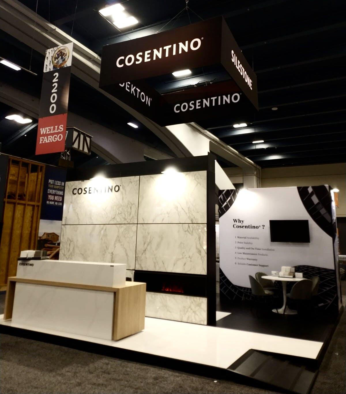 Image of IMG 5763 1 1 in Cosentino showcases Silestone and Dekton at PCBC 2019 - Cosentino