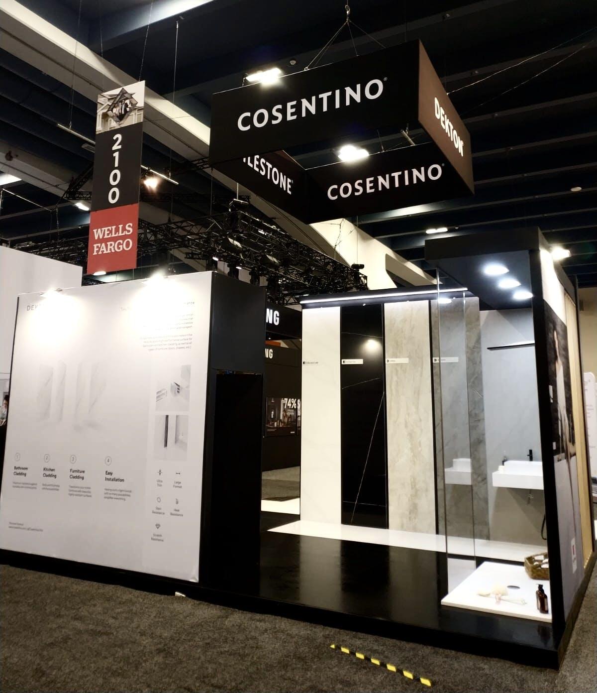 Image of IMG 5764 1 1 in Cosentino showcases Silestone and Dekton at PCBC 2019 - Cosentino
