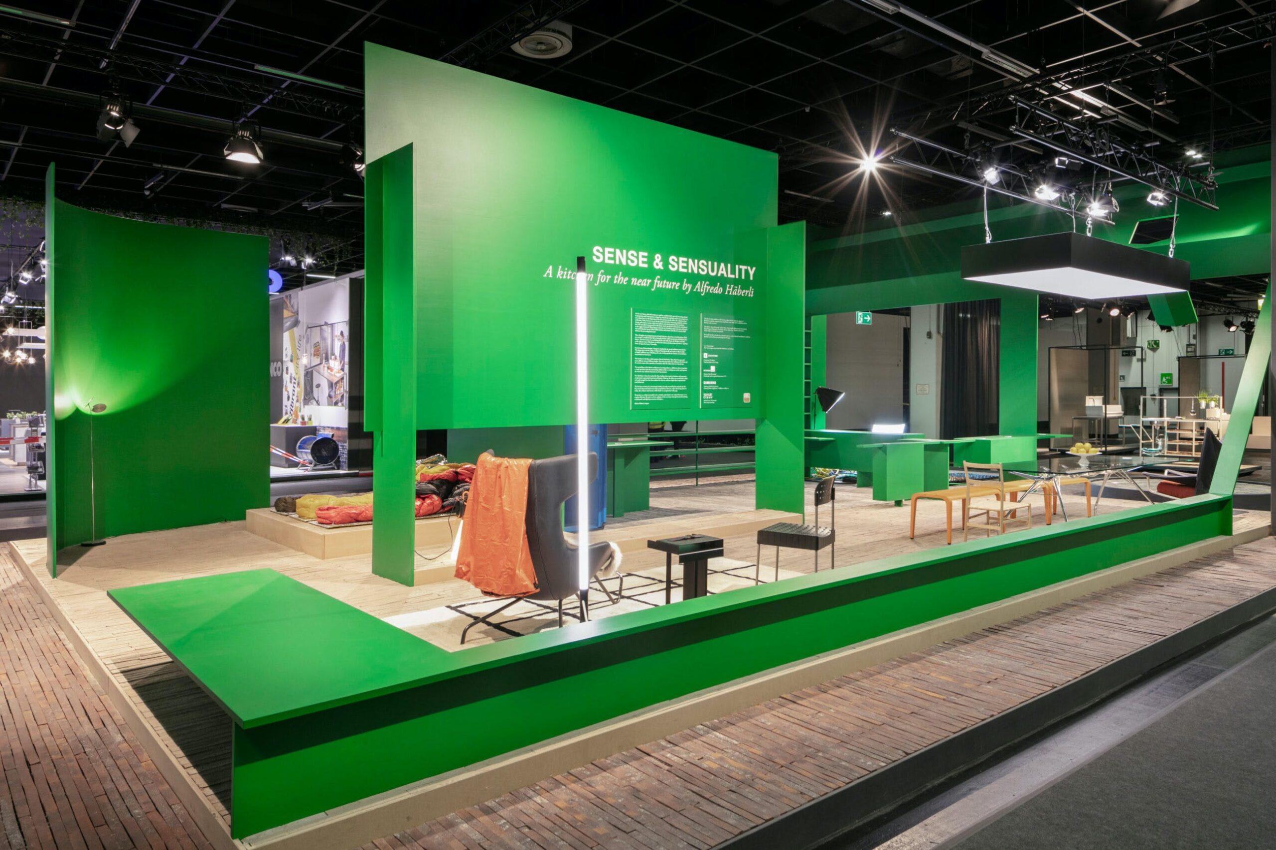 Image of IMM FutureKitchen Foto Stand 04 1 1 scaled in Alfredo Häberli chooses Dekton® for his kitchen for the future - Cosentino