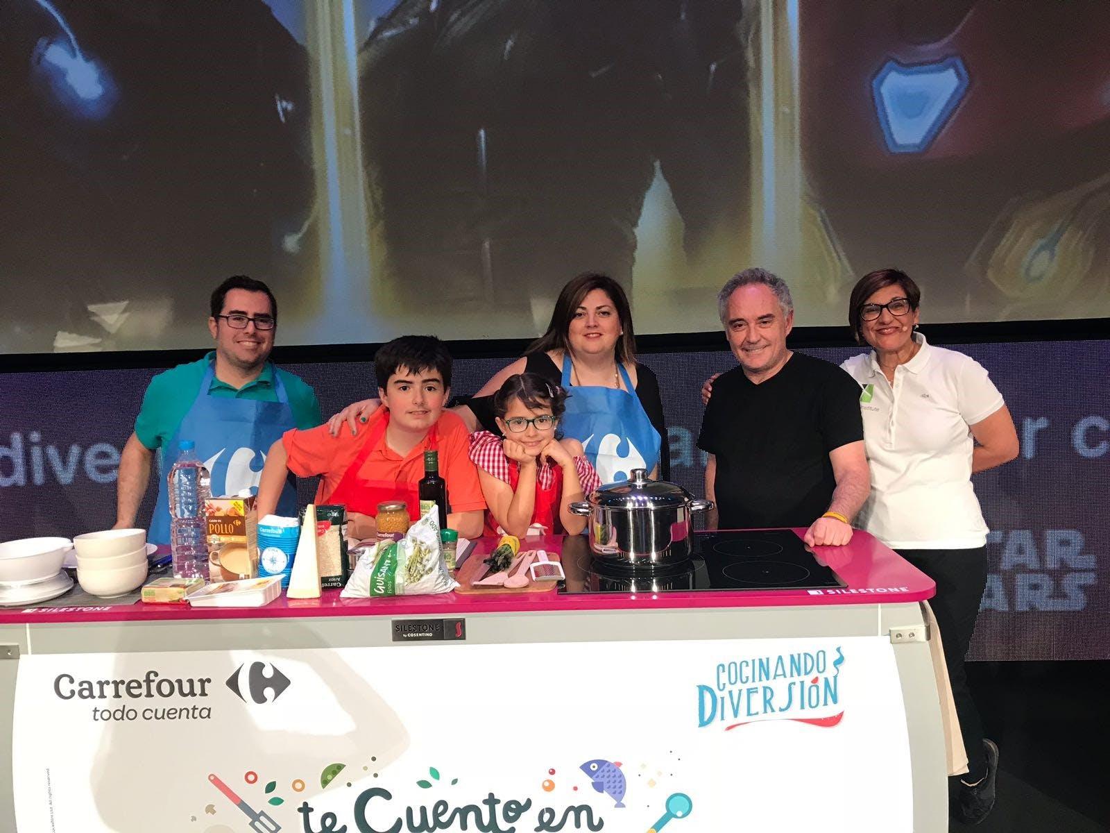 """Image of InstitutoSilestone CocinandoDiversión 3 1 in Silestone Institute with """"Cocinando Diversión"""" contest - Cosentino"""