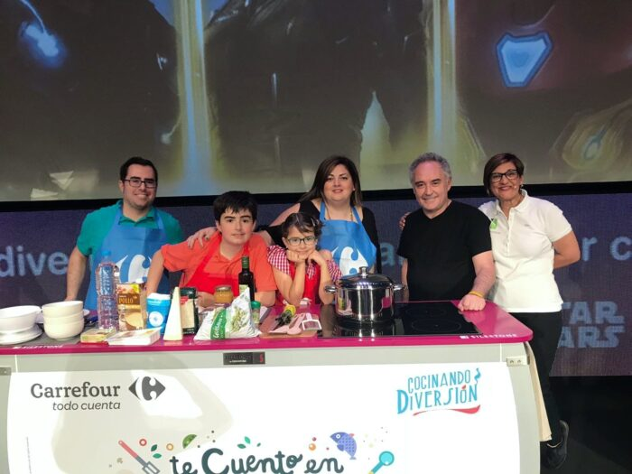 """Image of InstitutoSilestone CocinandoDiversión 3 2 in Silestone Institute with """"Cocinando Diversión"""" contest - Cosentino"""