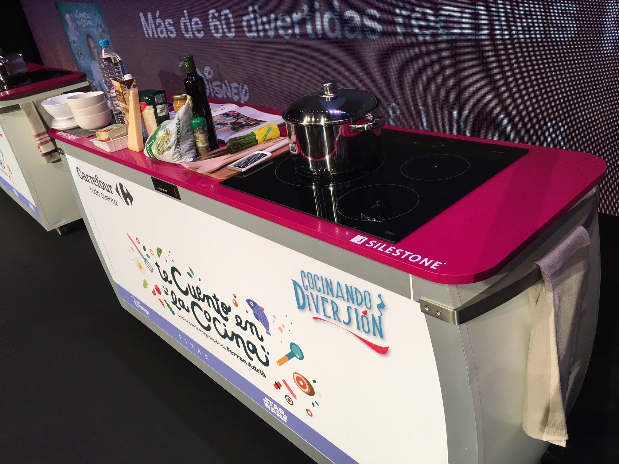 """Image of InstitutoSilestone CocinandoDiversión 4 1 in Silestone Institute with """"Cocinando Diversión"""" contest - Cosentino"""