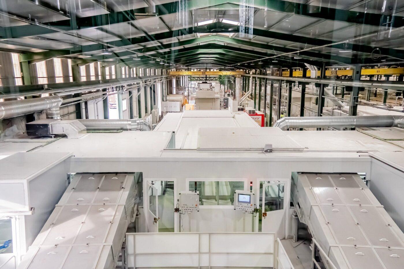 Image of Interior Planta Silestone Cosentino HQ 1 6 in Cosentino, winner of the Spanish National Innovation Award 2021 - Cosentino
