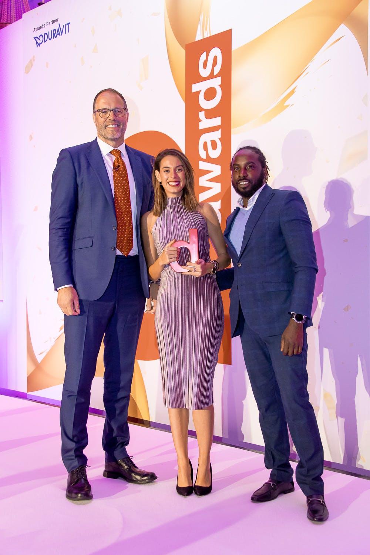 Image of KITCHEN GOLD WINNER COSENTINO 1 in Dekton Slim Wins at the Designer Kitchen and Bathroom Awards 2019 - Cosentino