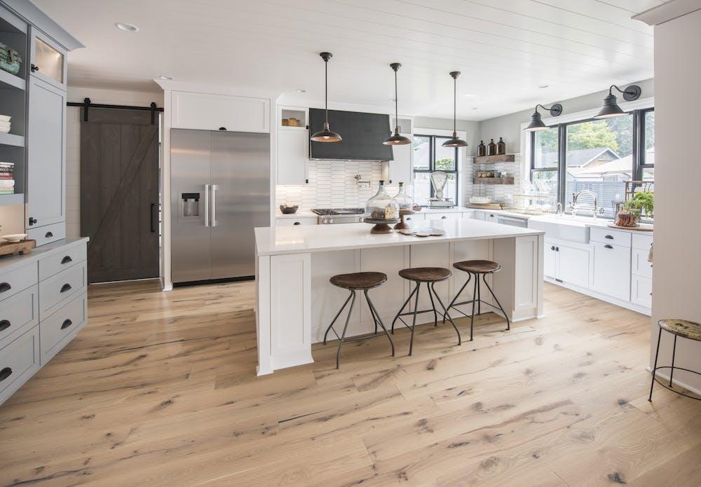 Image of Kitchen Silestone Calacatta Gold 1 1 in 2018 Northwest Idea House Features Dekton & Silestone Surfaces - Cosentino