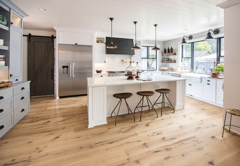 Image of Kitchen Silestone Calacatta Gold 1 2 in 2018 Northwest Idea House Features Dekton & Silestone Surfaces - Cosentino