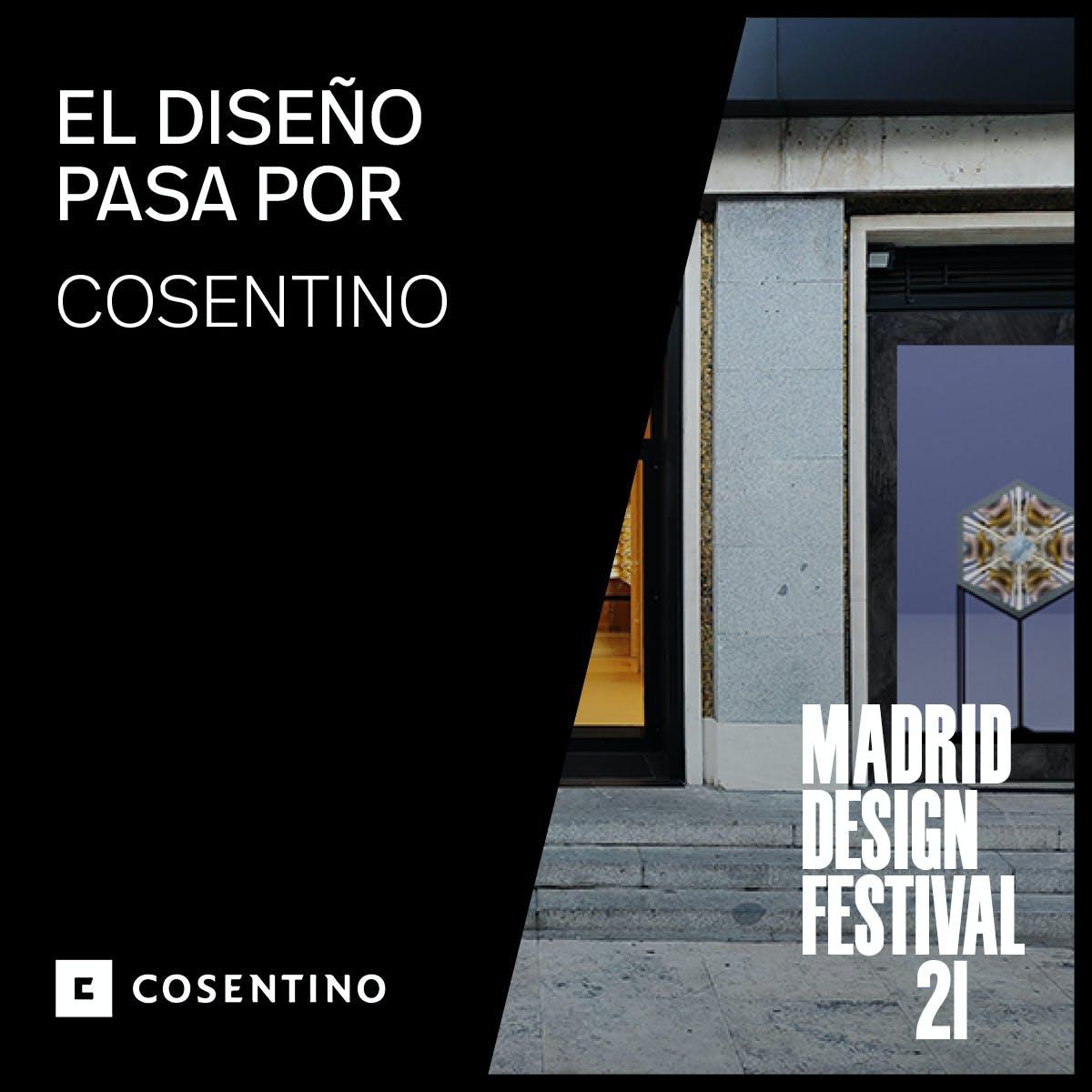 Image of MDPartner COSENTINO1 1 5 in Cosentino at the Madrid Design Festival 2021 - Cosentino