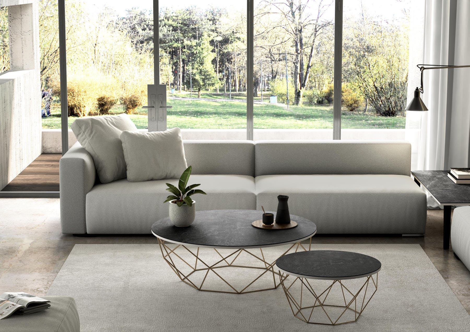 Image of Mesa Dekton Slim Table Detalle Laos 2 1 in Nice weather: let's make the most of it! - Cosentino