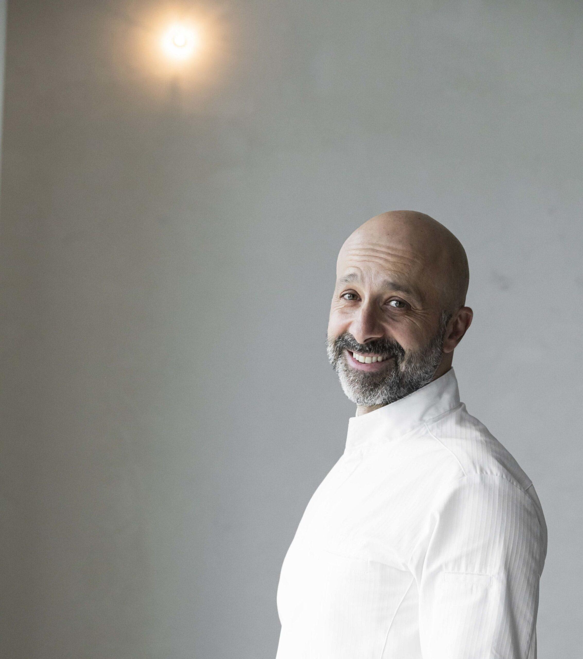 "Image of Niko Romito portada 1 scaled in Niko Romito, ""European Chef of the Year Award"" by Dekton® - Cosentino"