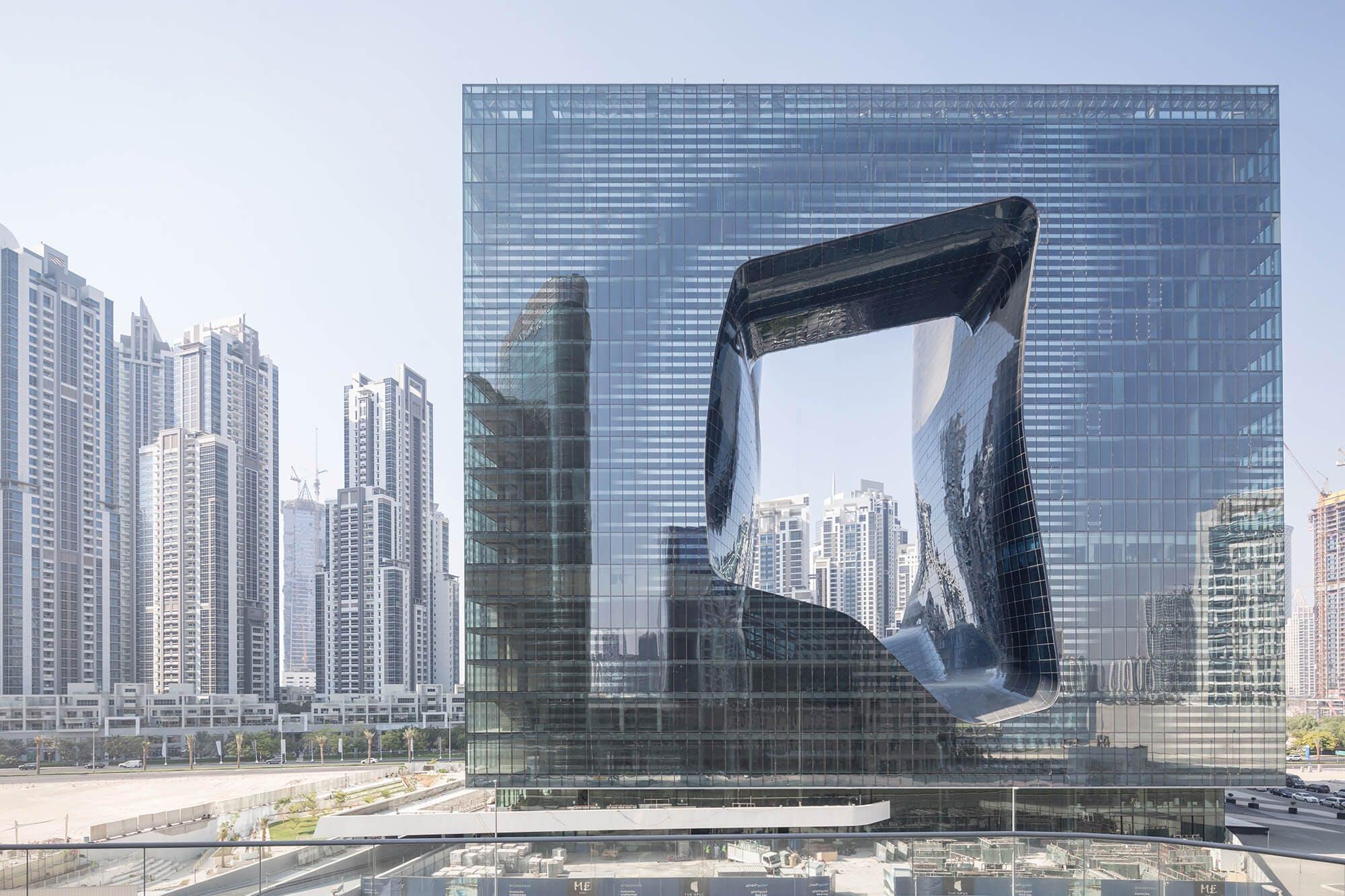 Image of Opus Building Zaha Hadid LaurianGhinitoiu 2 5 in Dubai joins C Guide - Cosentino