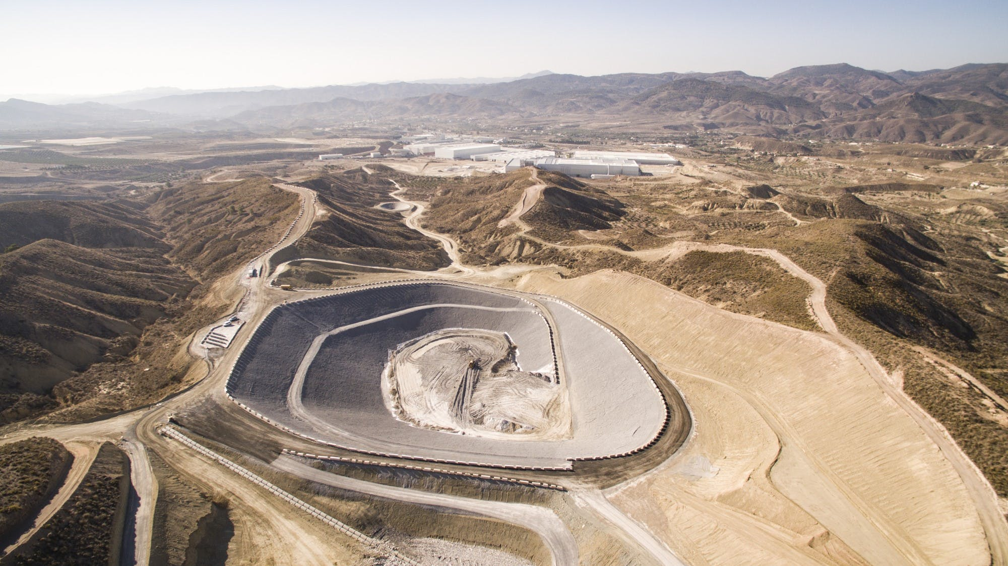 Image of Panoramica Planta Gestion Residuos COMA 2 3 in Cosentino, receives Environment Award from Andalusia Regional Government - Cosentino