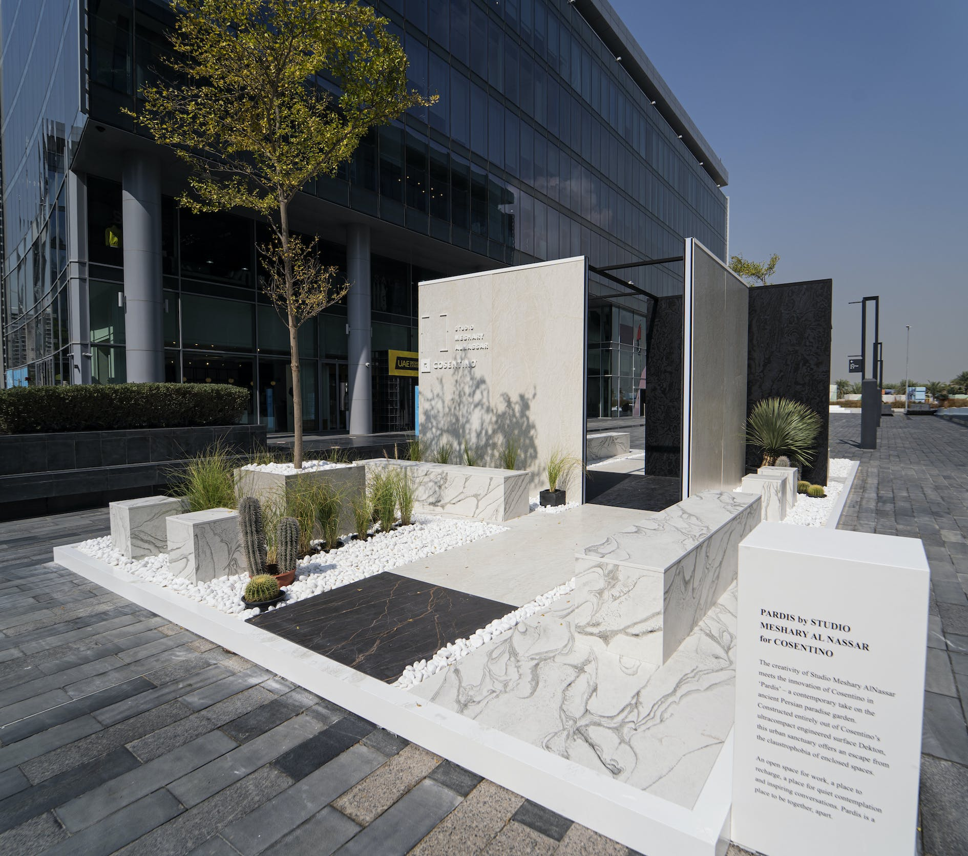 Image of Pardis DektonbyCosentino DDW 2020 2 1 in Cosentino presents 'Pardis' at Dubai Design Week 2020 - Cosentino