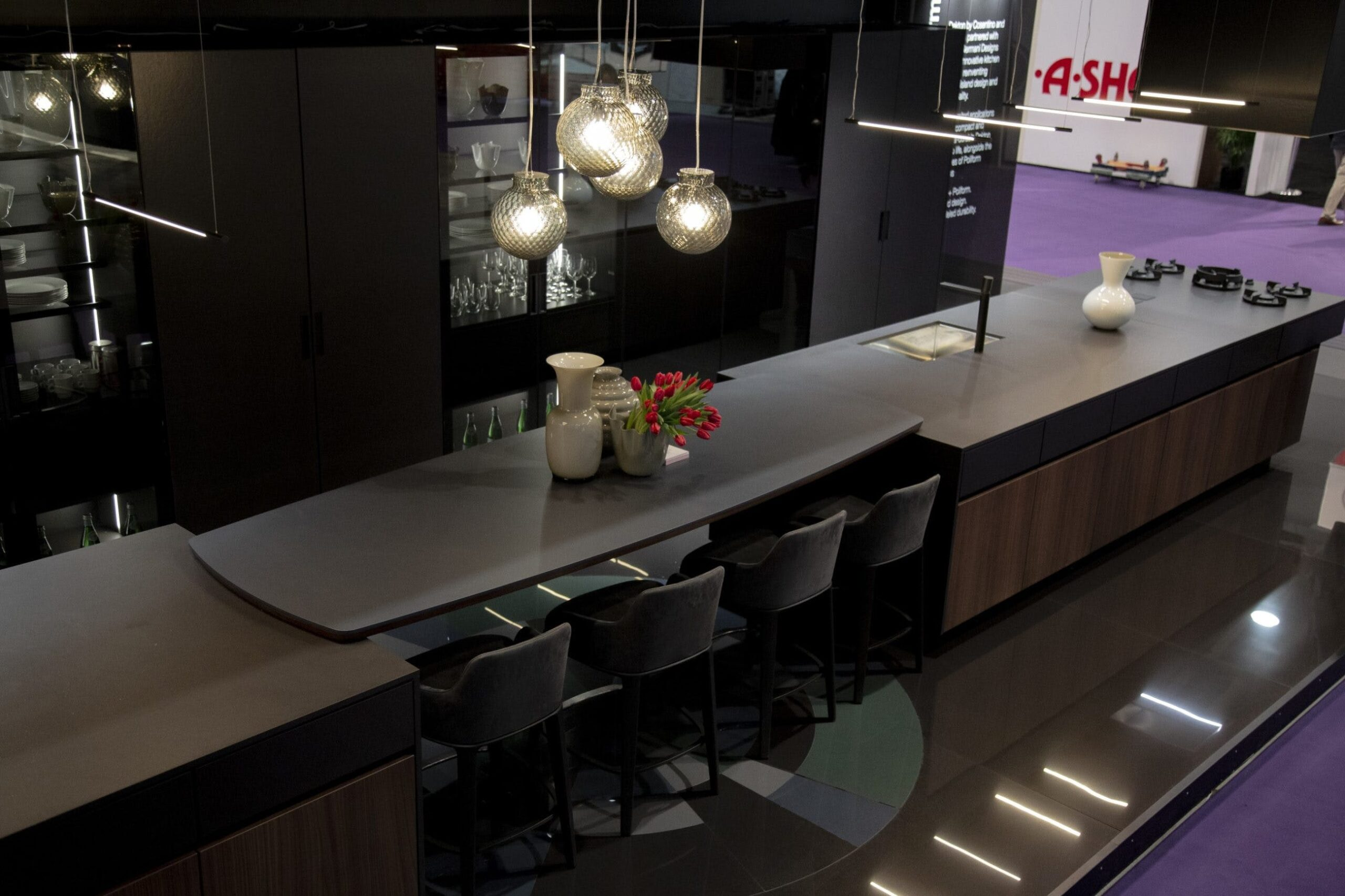 Image of Poliform baja 3 scaled in Cosentino at KBIS 2019 - Cosentino