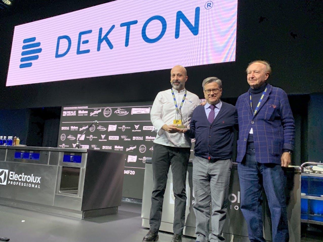 """Image of Premio MF 2020 1 1 in Niko Romito, """"European Chef of the Year Award"""" by Dekton® - Cosentino"""