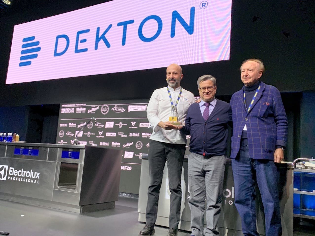 """Image of Premio MF 2020 1 2 in Niko Romito, """"European Chef of the Year Award"""" by Dekton® - Cosentino"""