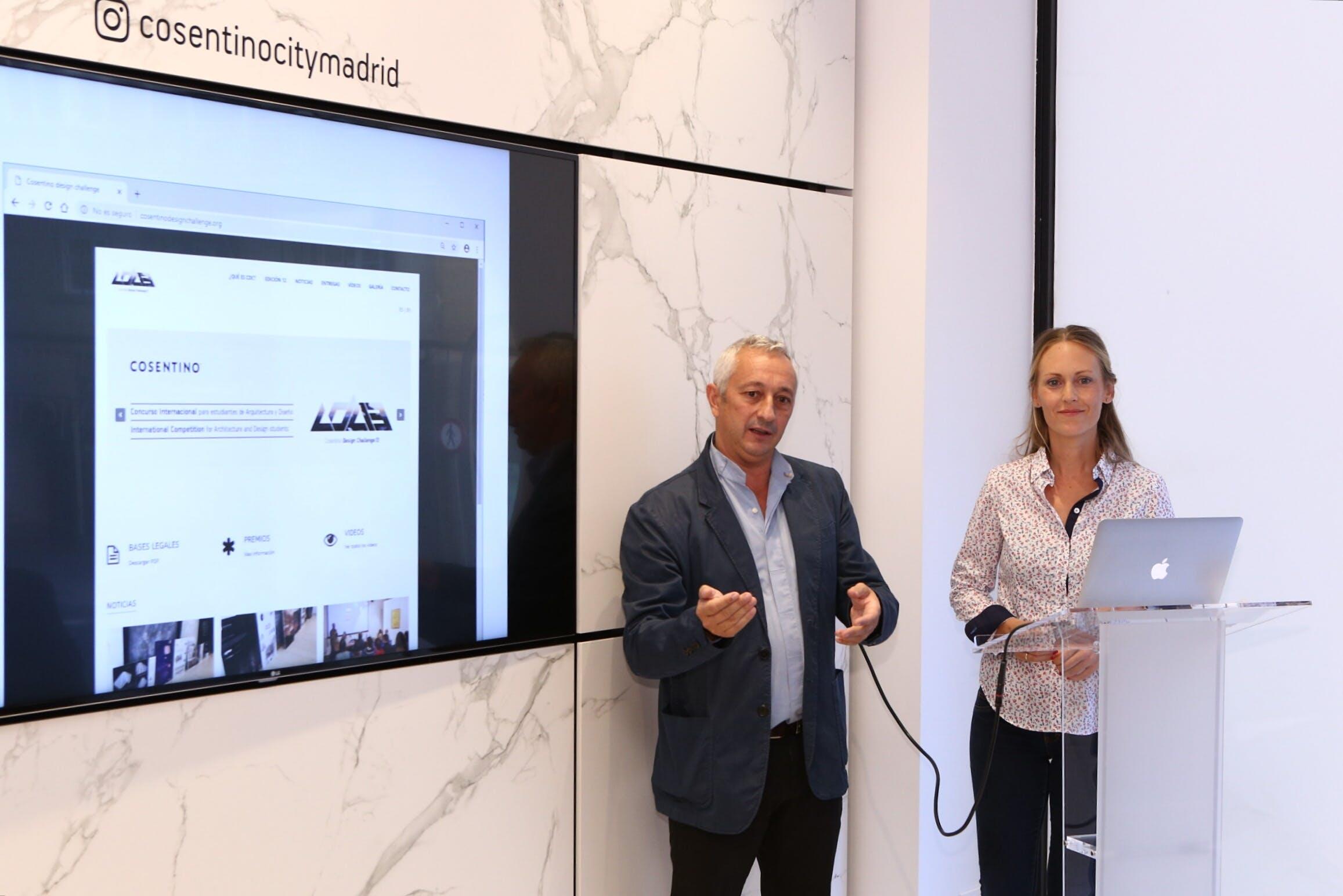 Image of Presentación CDC13 Ricardo Santonja y Adelina Salinas 1 in Cosentino Design Challenge 13 - Cosentino