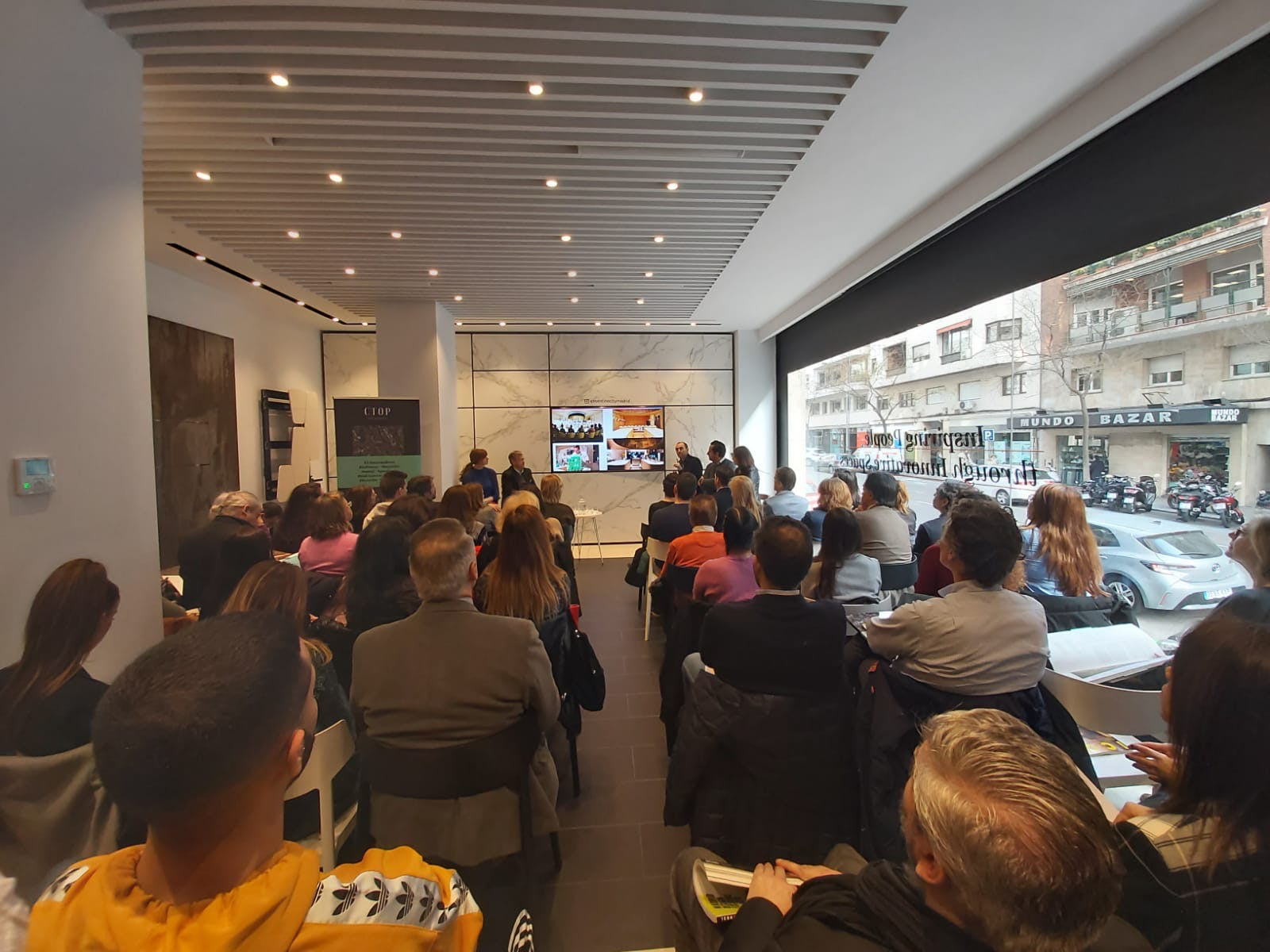 Image of Presentacion CTOP Restaurants en Cosentino City Madrid 3 2 in C-Top Restaurants at Cosentino City Madrid - Cosentino