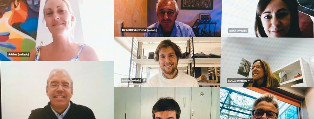 Image of Reunion Online Jurado in Cosentino Design Challenge 14 winners - Cosentino