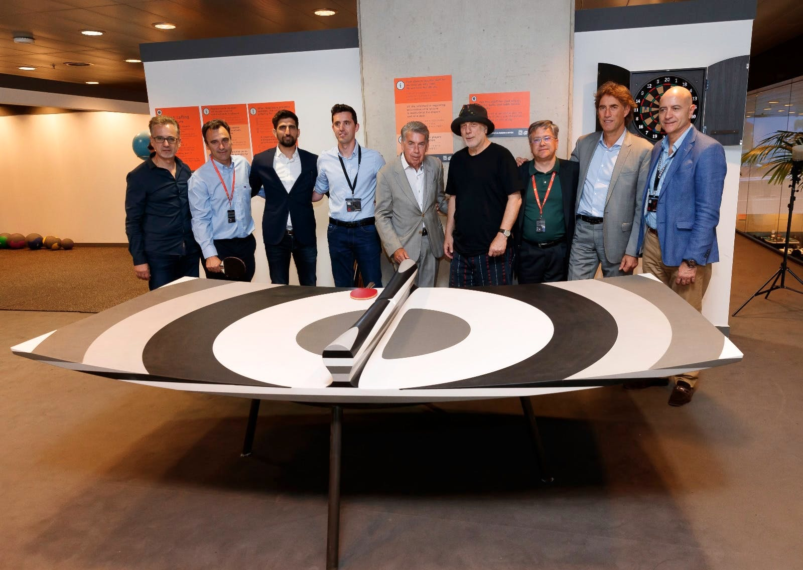"""Image of Ron AradCosentinoMMO Teams 1 4 in Ron Arad and """"10 Layers"""" at the Mutua Madrid Open with Cosentino - Cosentino"""