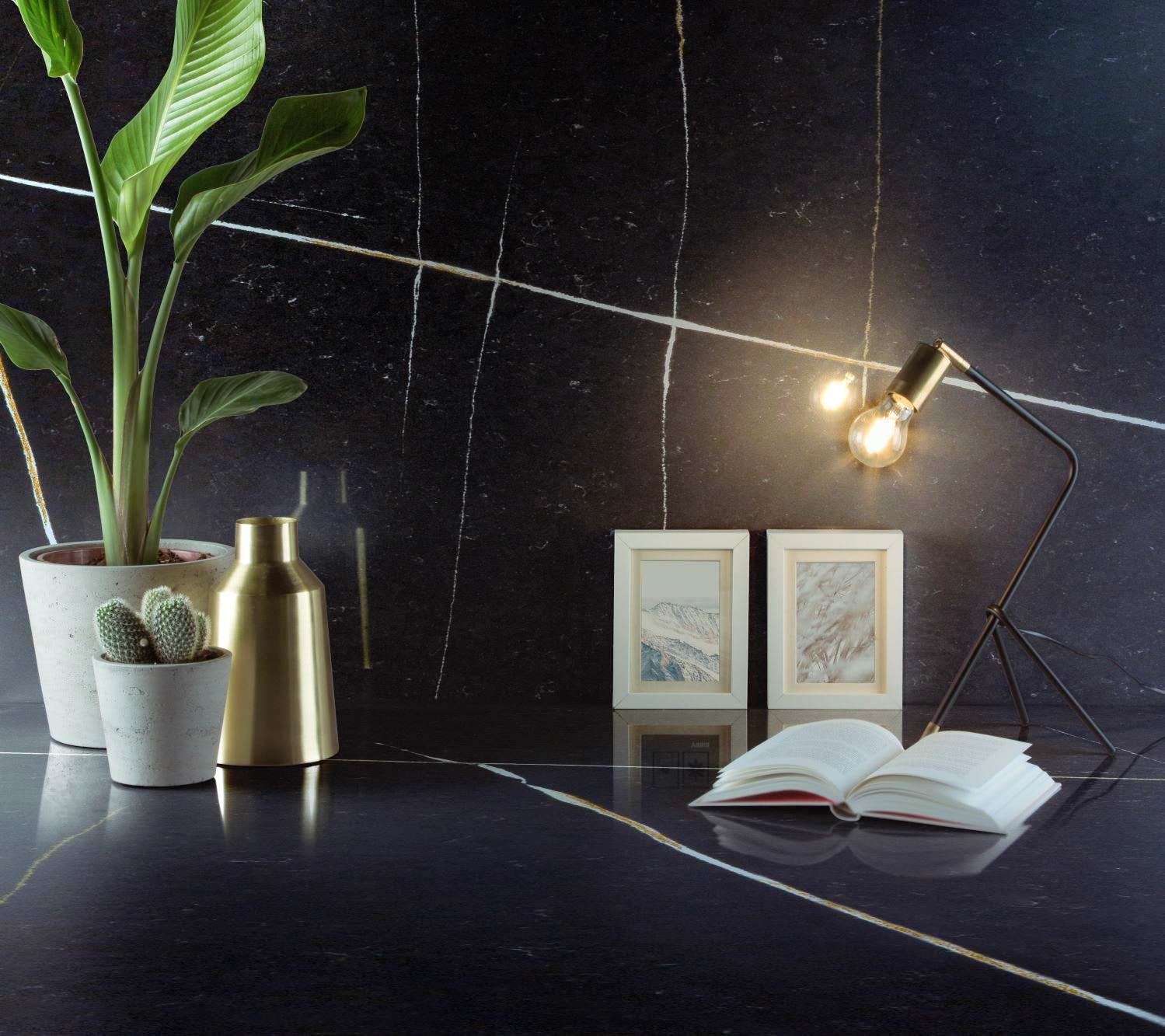 Image of Silestone Eternal Noir 3 in Discover the trendiest ideas to decorate your home - Cosentino