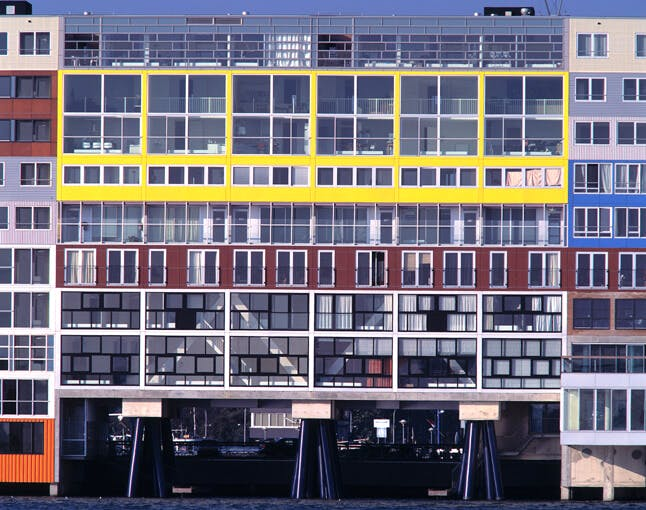 Image of Silodam Housing Block MVRDV ©MVRDV in Cosentino City Amsterdam - Cosentino