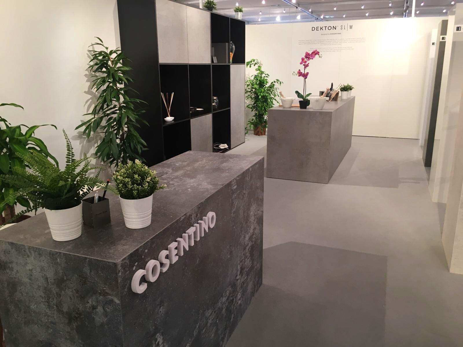 Image of Stand Cosentino en Sicam 2018 1 2 in Cosentino Group present at Sicam 2018 - Cosentino
