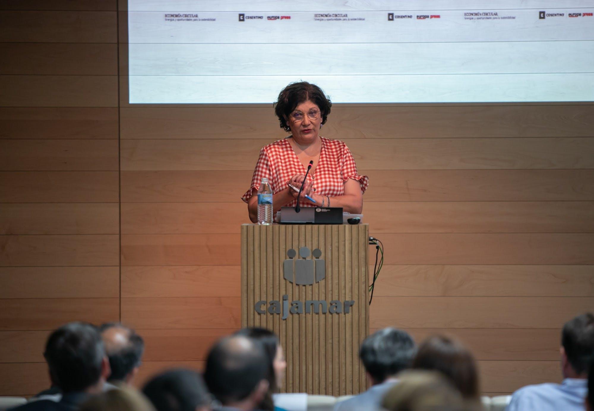 Image of Susana Magro Jornada Economia Circular Cosentino 2 in Cosentino promotes the Circular Economy and Industrial Simbiosis - Cosentino