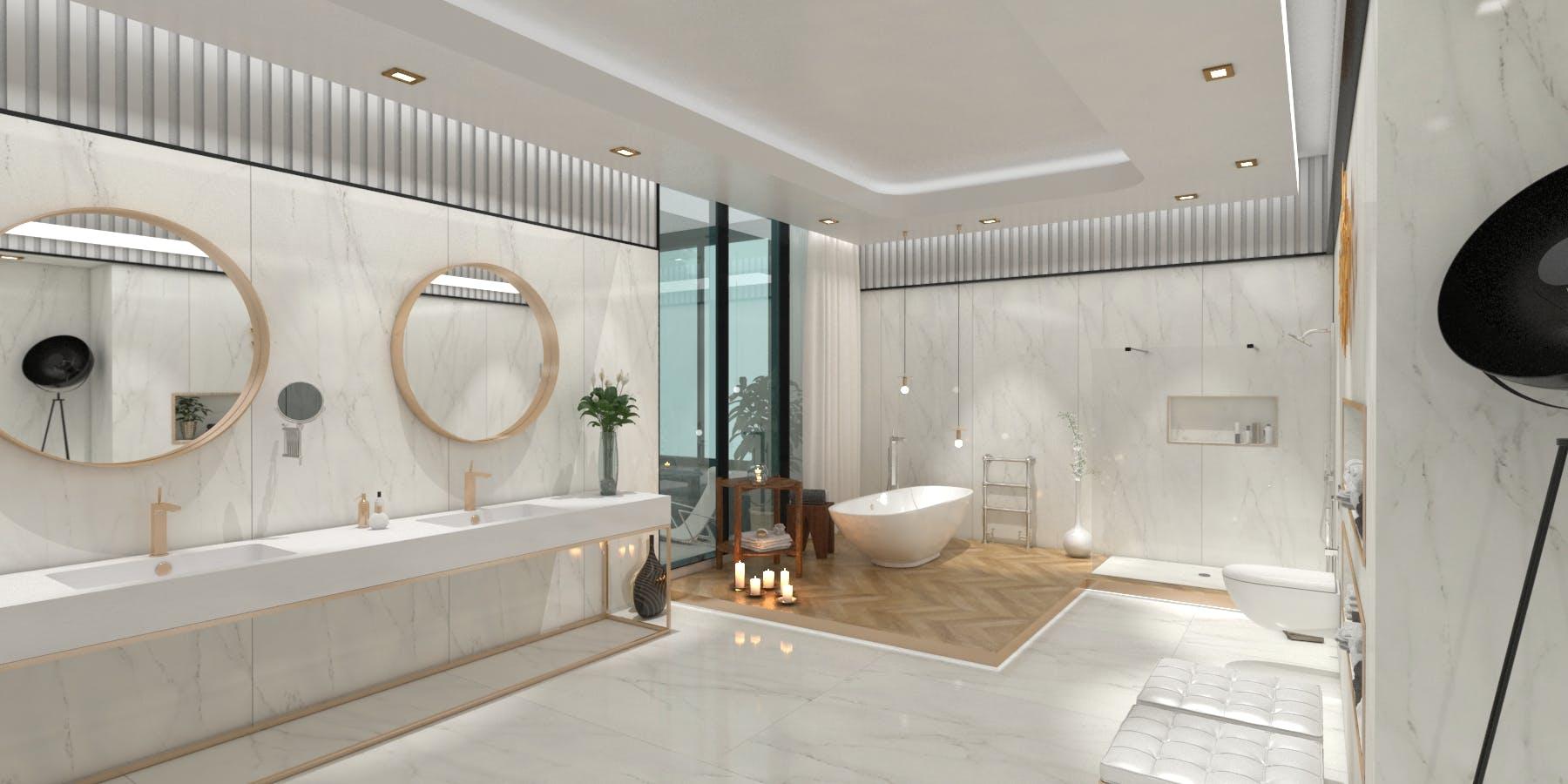 Image of Virtual stand Cosentino KBIS 2021 Bathroom 4 in Cosentino at KBIS 2021 - Cosentino