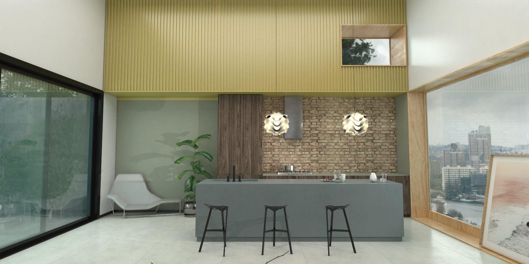 Image of Virtual stand Cosentino KBIS 2021 Kitchen 6 in Cosentino at KBIS 2021 - Cosentino