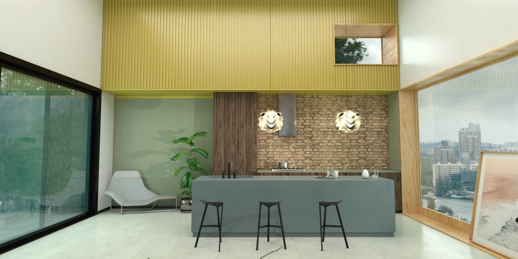 Image of Virtual stand Cosentino KBIS 2021 Kitchen 7 in Cosentino at KBIS 2021 - Cosentino