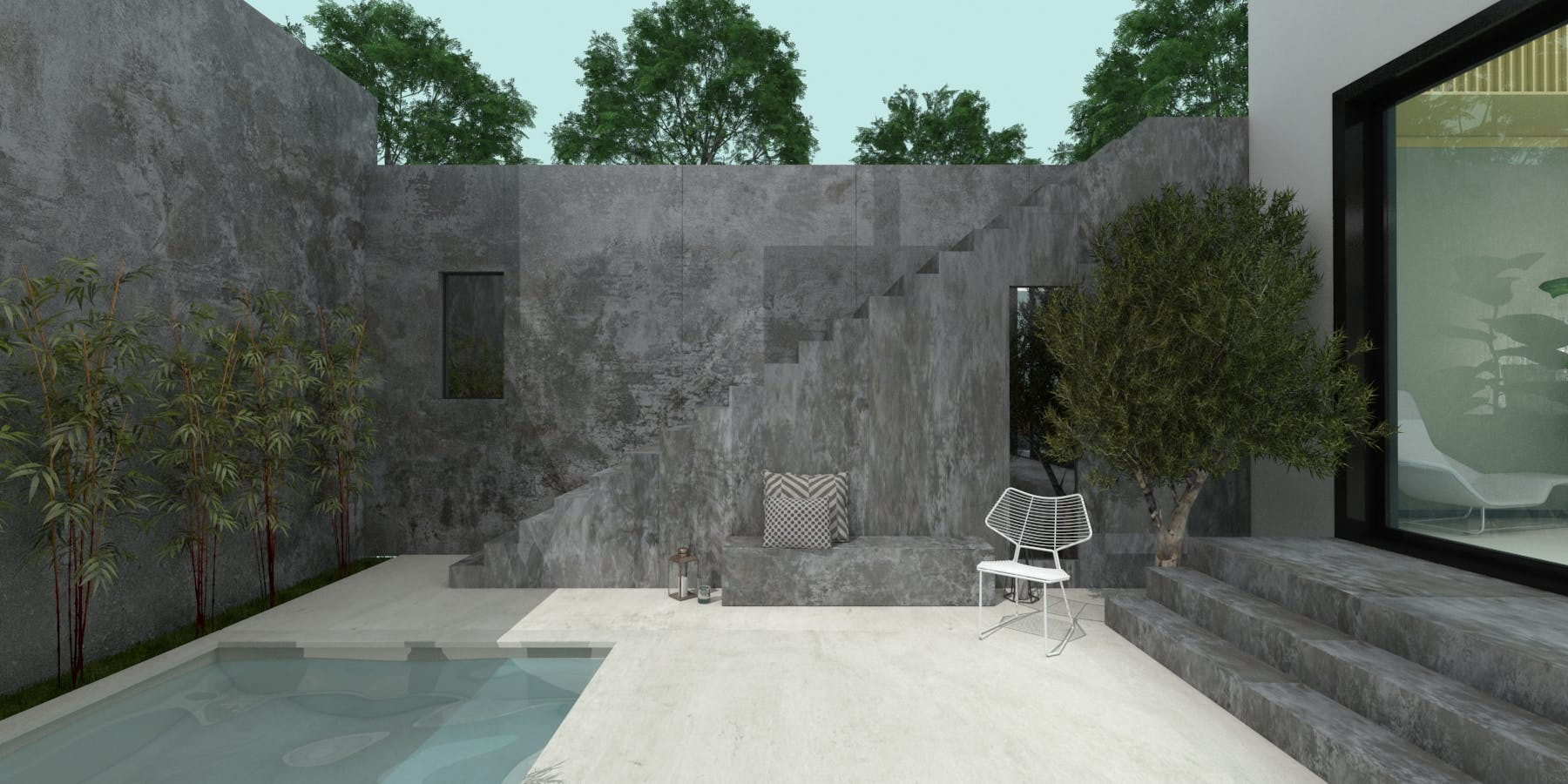 Image of Virtual stand Cosentino KBIS 2021 outdoor 4 in Cosentino at KBIS 2021 - Cosentino