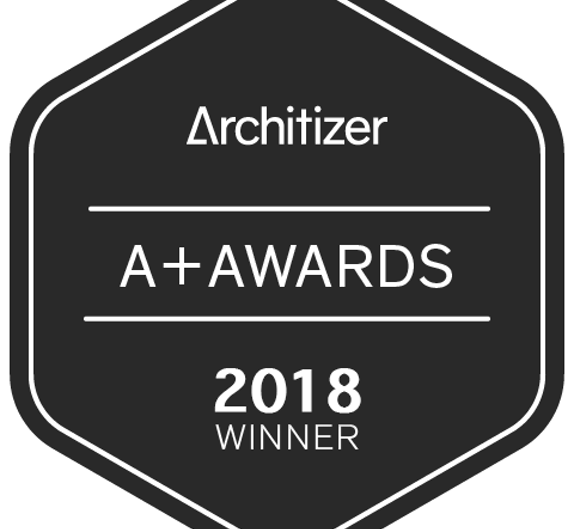 Image of a winner2017 black 1 in Dekton Industrial wins Popular Choice Vote in 2018 Architizer A+ Awards - Cosentino
