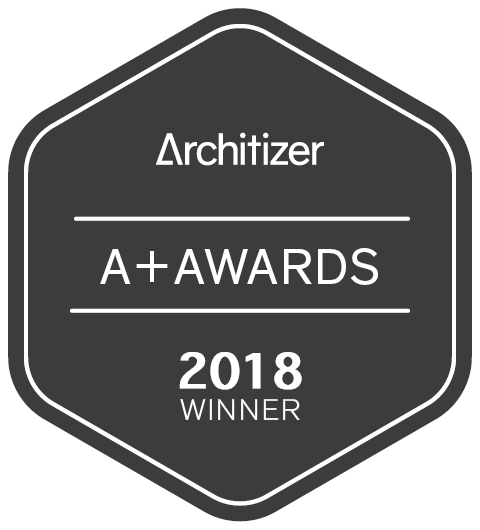 Image of a winner2017 black 2 in Dekton Industrial wins Popular Choice Vote in 2018 Architizer A+ Awards - Cosentino
