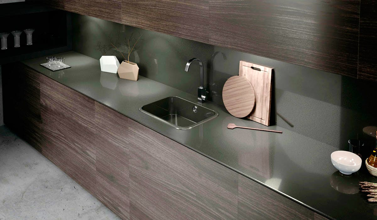 Image of ambiente integrity top cemento spa 2 in Key points in choosing the correct sink - Cosentino