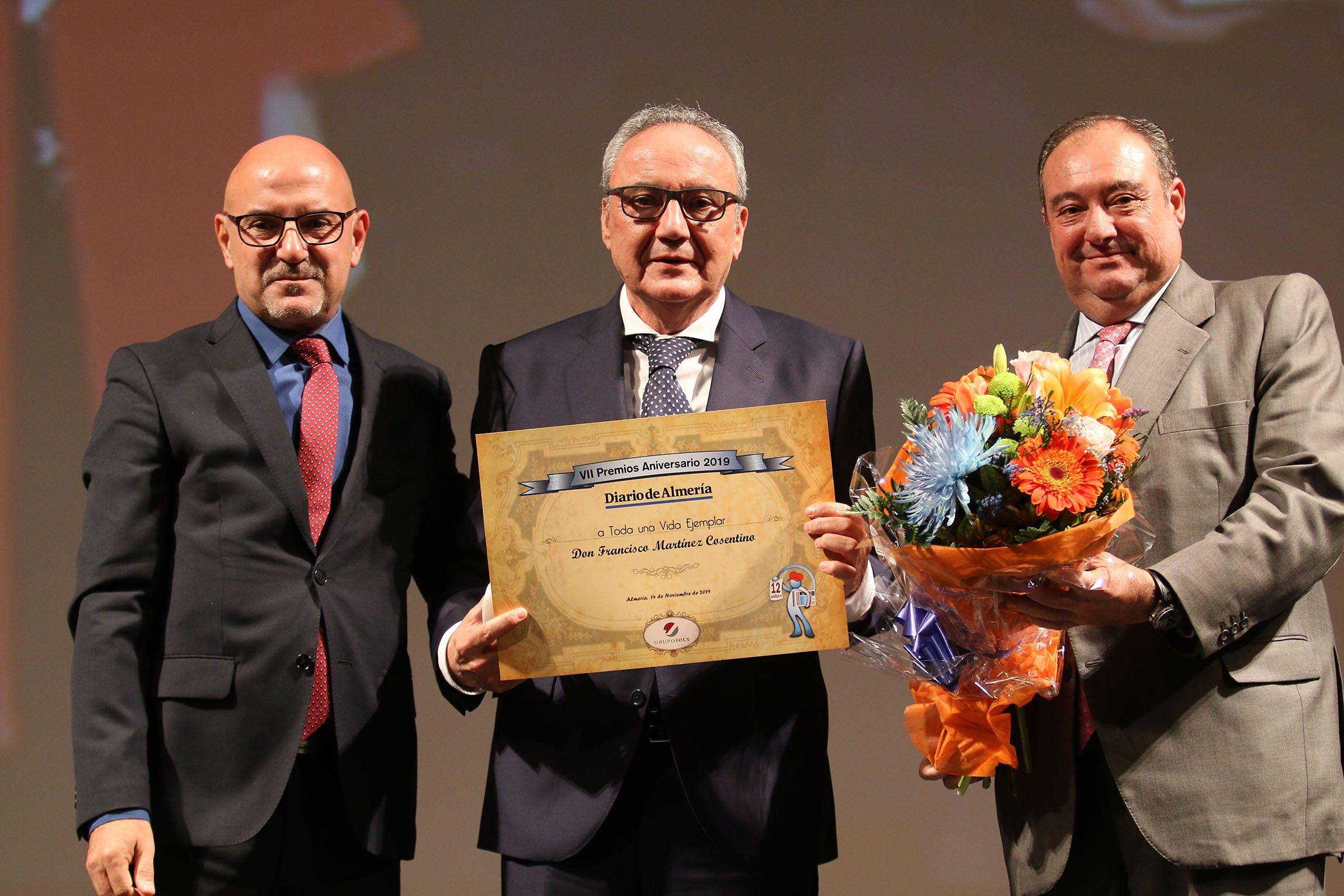 Image of cosentino3 1 in Francisco Martinez-Cosentino Justo recognized with Diario de Almeria 2019 Award - Cosentino