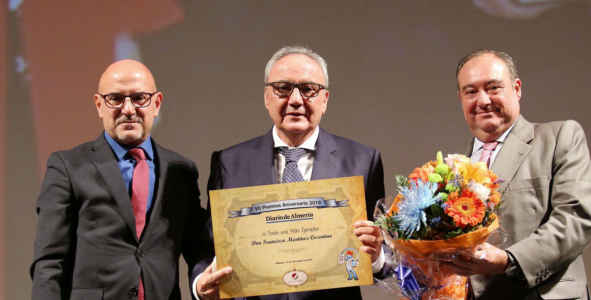 Image of cosentino3 portada in Francisco Martinez-Cosentino Justo recognized with Diario de Almeria 2019 Award - Cosentino