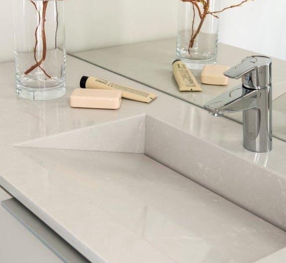 Image of finnish wooden house Cosentino 7 1 in Finnish Wood House with Silestone® Bathroom and Dekton® Kitchen - Cosentino
