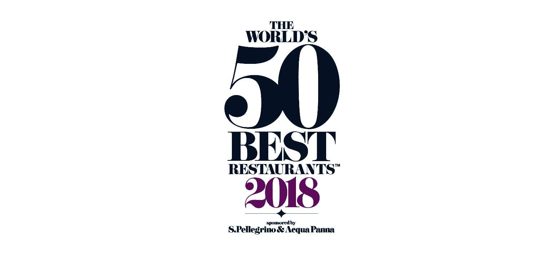 "Image of logo 50 best restaurants portada 3 1 in Dekton® and ""The World's 50 Best Restaurants 2018"" - Cosentino"