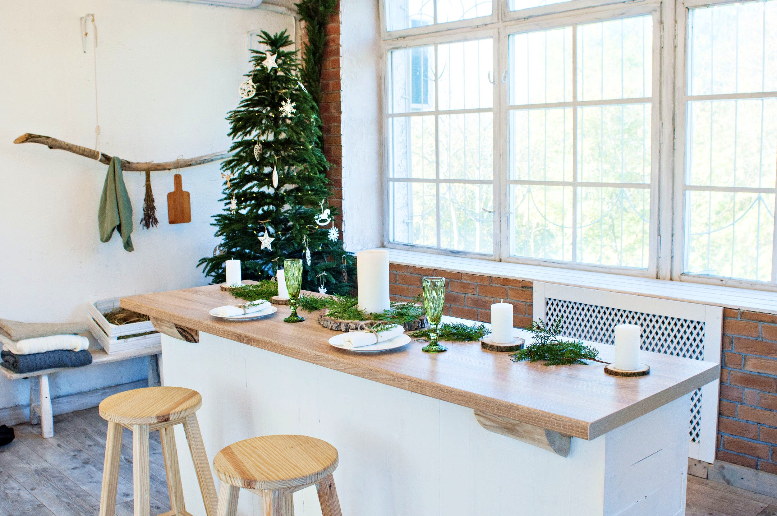 Image of navidad 1 2 in {{The most creative Christmas decoration ideas for your kitchen}} - Cosentino