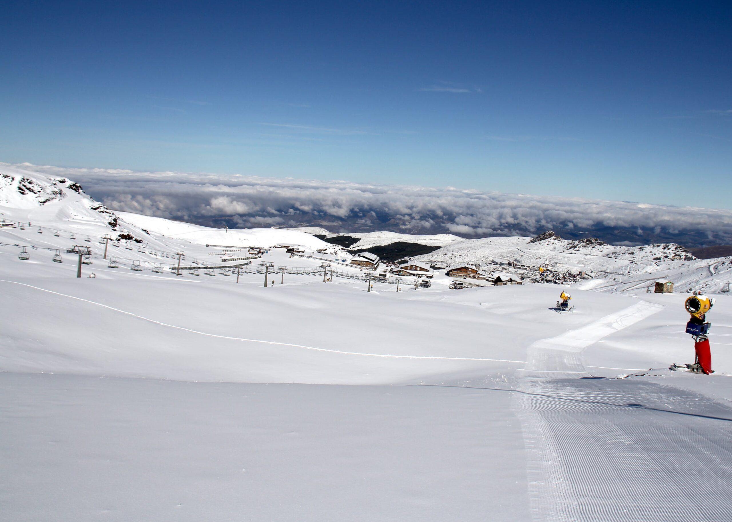 Image of pisado4 2 scaled in Cosentino, Official Sponsor of Sierra Nevada's Ski Resort - Cosentino