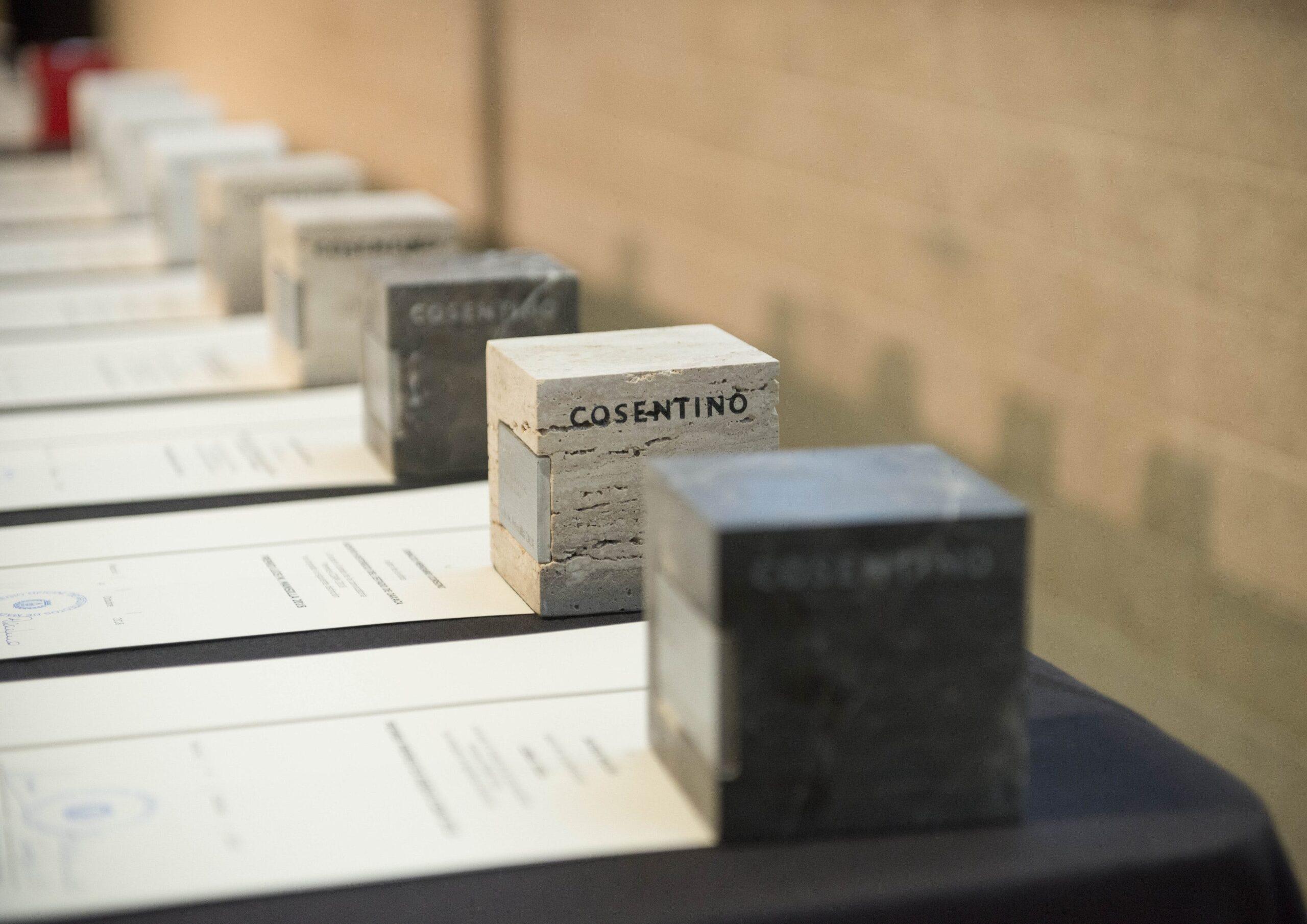 Image of prensa Estatuillas Foto de AAmado COAMpremios 1 scaled in Madrid Architecture Week 2018 - Cosentino