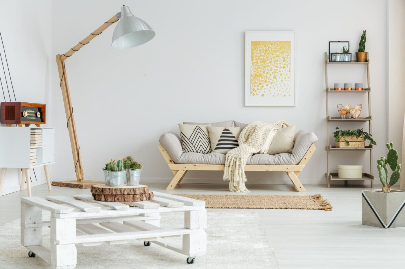 The latest in natural decoration: Raw Style